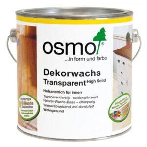 Цветное масло Osmo Dekorwachs Transparent