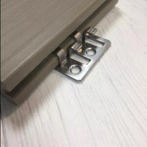 Клипса для террасной доски стальная