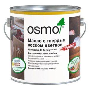 Osmo Hartwachs-Ol Farbig масло с твердым воском для тонирования